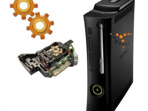 Cambio lente Xbox 360